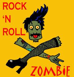 Rock n Roll Zombie Y by Kenderi