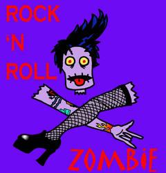 Rock n Roll Zombie P by Kenderi