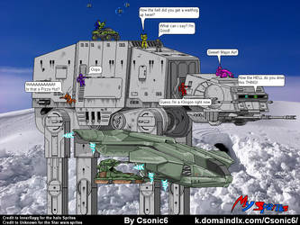 Halo and Star Wars? MIXED? by Csonic6