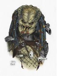 Bust Series: Elder Predator by kris-knave
