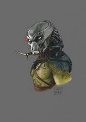 Bust Series: Tracker Predator by kris-knave