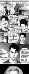 Drunk Connor by RunStrayWolf