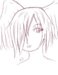 Coffee Crema Sketch by KitsunePhantasm