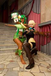 *3* Eva and  Amalia by MayWolf23