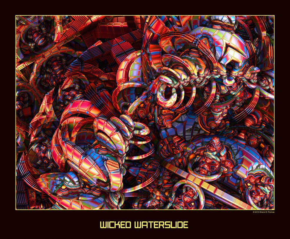 Wicked Waterslide by Darkestnightmare