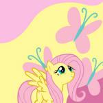 Fluttershy Wallpaper by PinkieThePowerpuff
