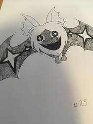 Inktober #25 - Komory Bat by Eveart13