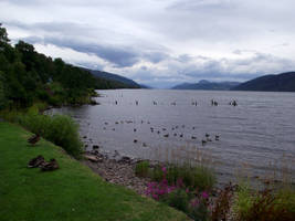 Loch Ness from Dores by DanaVarahi