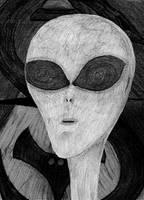 Grey Alien by DanaVarahi