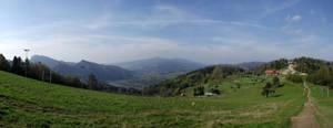 Panorama from Palenica by DanaVarahi