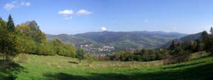 Panorama from Palenica 3 by DanaVarahi