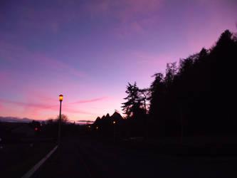 Balnafettack Rd at dusk by DanaVarahi