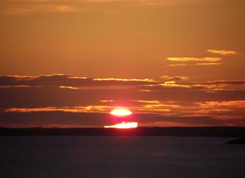 Sunrise over Moray Firth by DanaVarahi