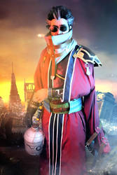 Auron cosplay from Final Fantasy X (FFX)( by Exerbrang
