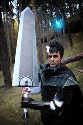 Guts Berserker armor cosplay from Berserk by Exerbrang
