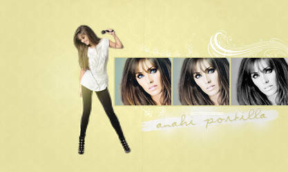 Anahi Wallpaper 2 by xxMissPortilla