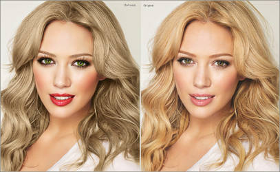 Hilary Retouch by xxMissPortilla