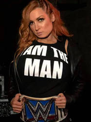 Becky Lynch Breast Expansion  by paulscowboys