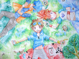 Summer Day-Digimon Tamers by Mikururun