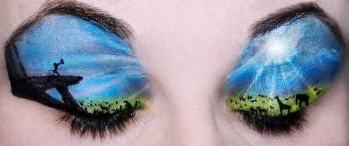 Lion King Eyes by KatieAlves
