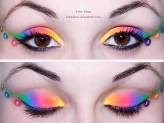 Skittles Eyes by KatieAlves