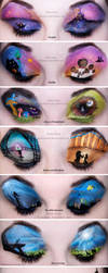 Entire Disney Make-up Collection... So Far by KatieAlves