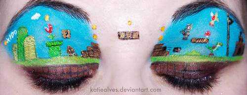 Super Mario Eyes by KatieAlves