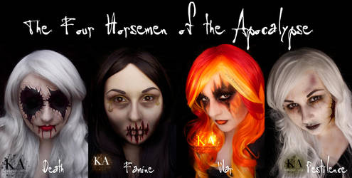 The Four Horsemen of the Apocalypse by KatieAlves