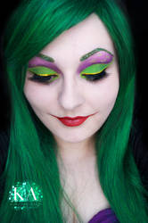 Joker Makeup by KatieAlves