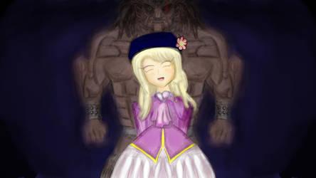 Illya and Berserker by DragonlordYT
