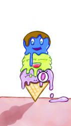 Ice Cream Fight! by DragonlordYT