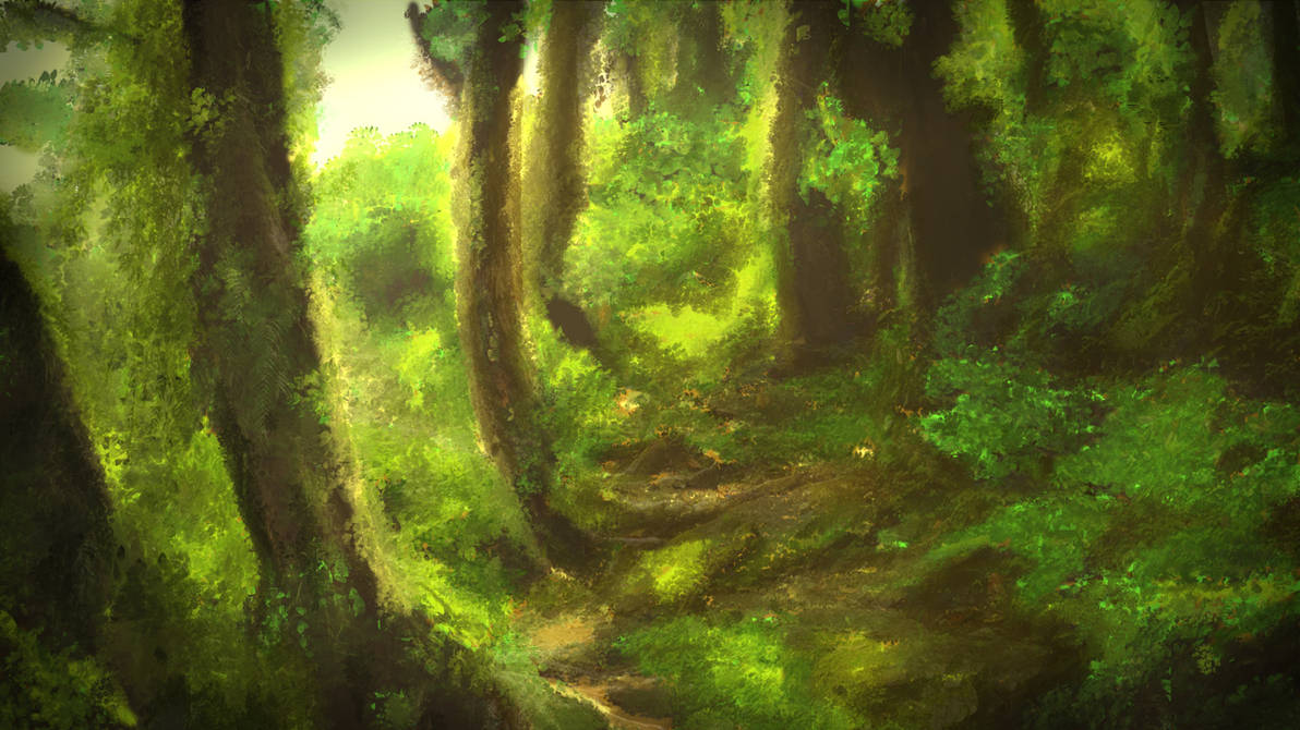 Forest by DragonlordYT