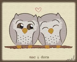 Mac and Dora by Phobic42