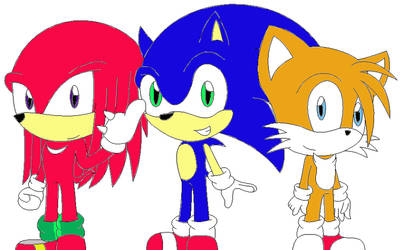 :Collab: Team Sonic by SurferChick1311
