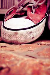 Color Effect: Pink Converse by SurferChick1311