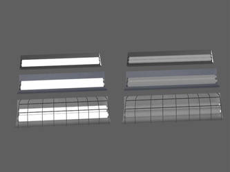 Cealing Flourescent Light Off And On Mesh by OGCHUCK
