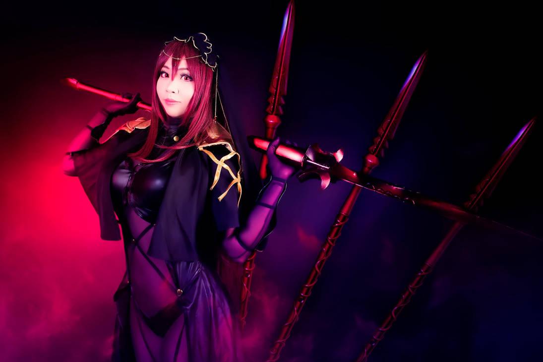 Koyuki as Scathach by Nlghtmal2e