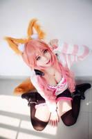 Koyuki as Tamamo no Mae by Nlghtmal2e