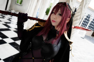 Scathach Lancer (3) by Koyuki by Nlghtmal2e