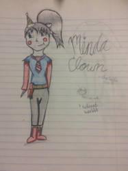 Minda Clown (colored) by CraCRaEve1103