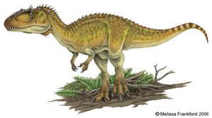 Carcharodontosaurus by mmfrankford