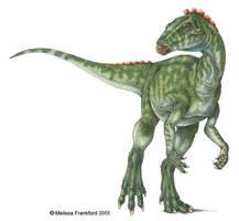 Heterodontosaurus by mmfrankford