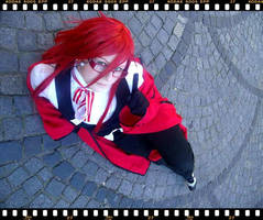 Grell Cosplay sexy way by Moin2D