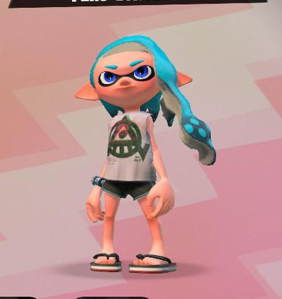 Inkling Girl: Alikaha by Ghosttrainer23
