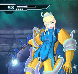 Samus in a spot of trouble! by johntaro