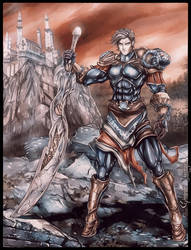 Taranis - Knight by FrancisLugfran