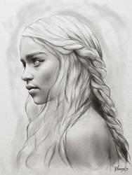Daenerys Targaryen - Khaleesi by FrancisLugfran