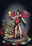 Fairy and Dragon - Khamael by FrancisLugfran