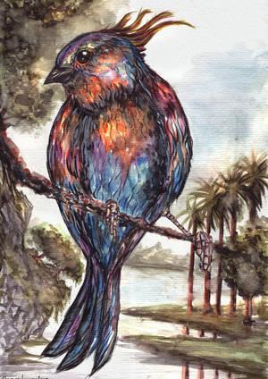 Nebula Bird by FrancisLugfran