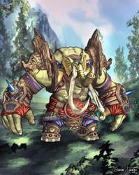 Elephant Warrior - BnS by FrancisLugfran